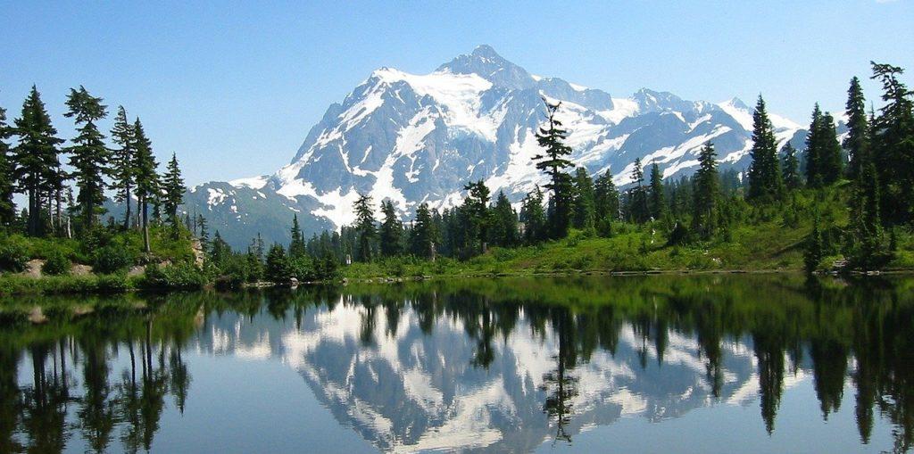 Photo des North Cascades aux Etats Unis