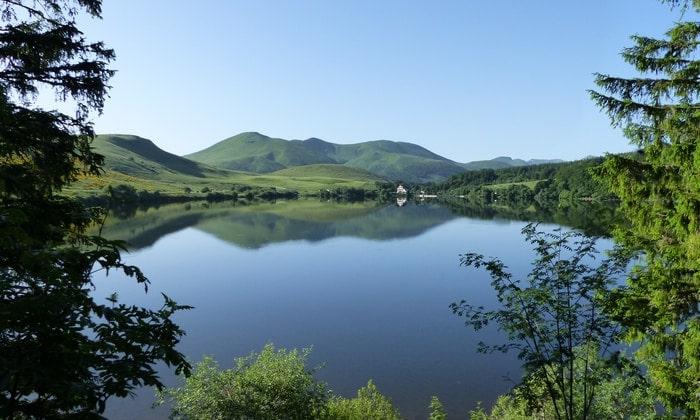 Photo du lac de Guery