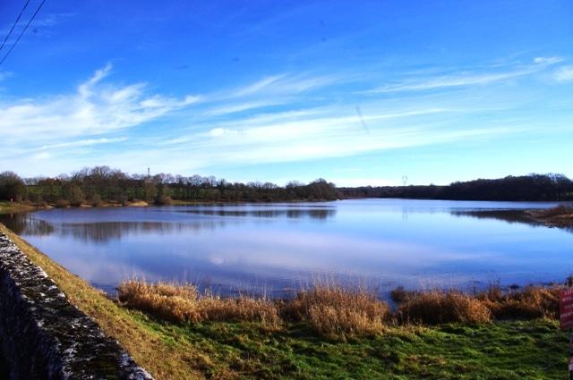 Photo de l'étang de Goule