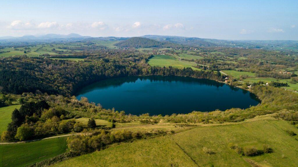 Photo du lac de Gour de Tazenat