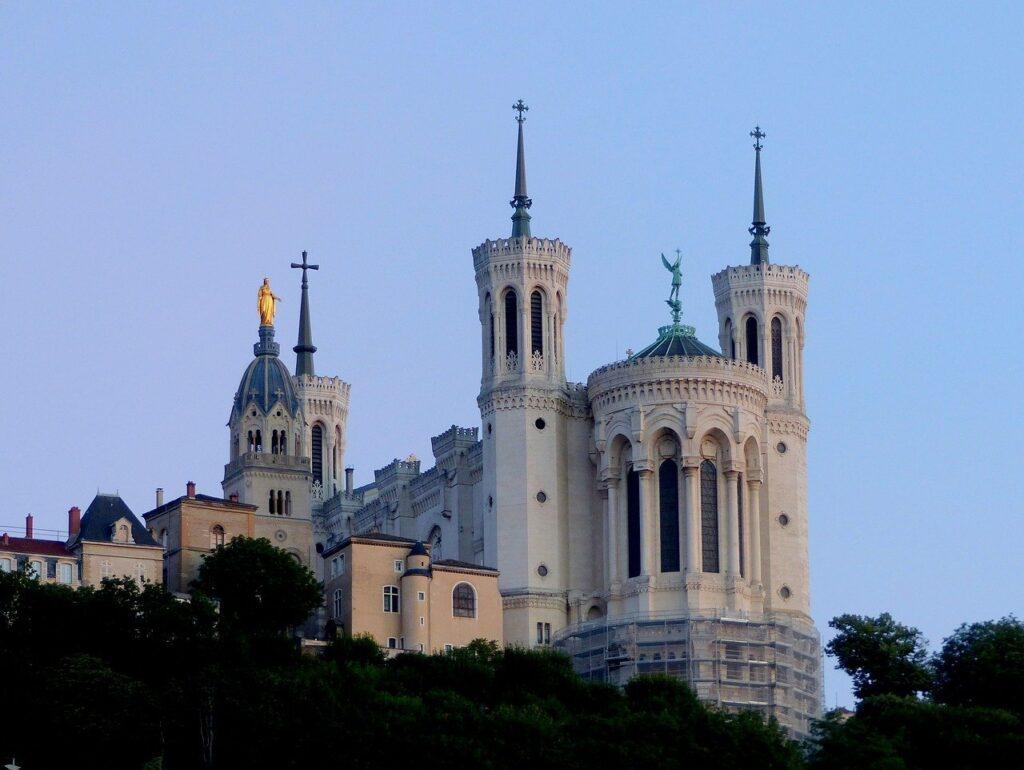 Photo de la basilique Fourvière Lyon